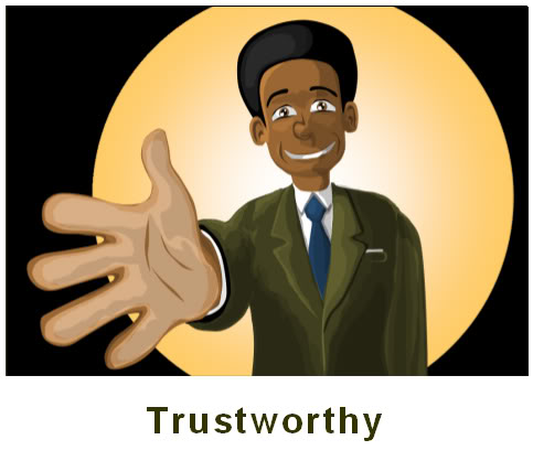 Trustworthiness Character Clipart - Clipart Suggest