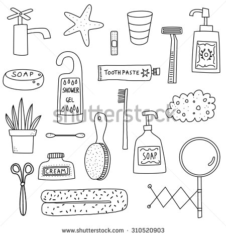 Travel Size Toiletries Clipart - Clipart Suggest
