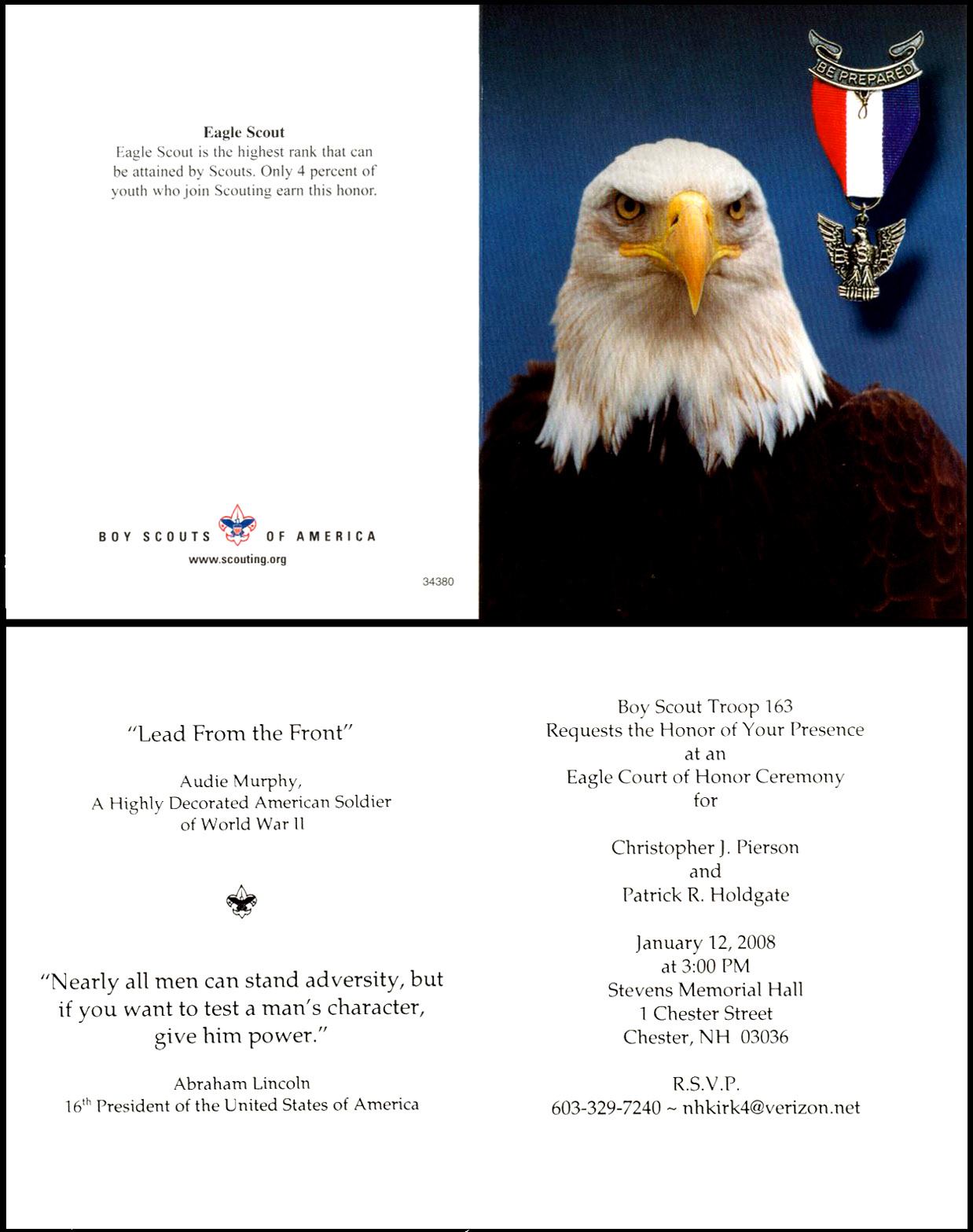 Invitation Eagle Scout Clipart Clipart Kid – Eagle Scout Invitation Cards