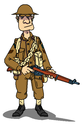 Go Back Gallery For Cartoon Soldier Ww1 #ZLjltX - Clipart Kid
