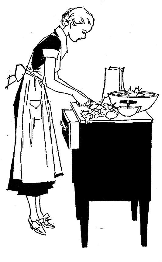Vintage Cooking Clipart - Clipart Kid