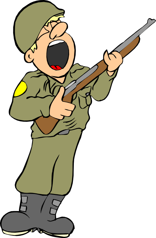 Soldier Clip Art   Images   Free For Commercial Use