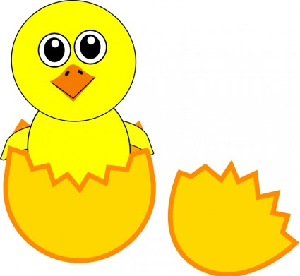 There Is 32 Cute Cartoon Chicks Free Cliparts All Used For Free