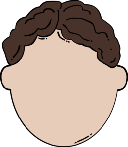 Back Of Brown Hair Man Clip Art  Png And Svg