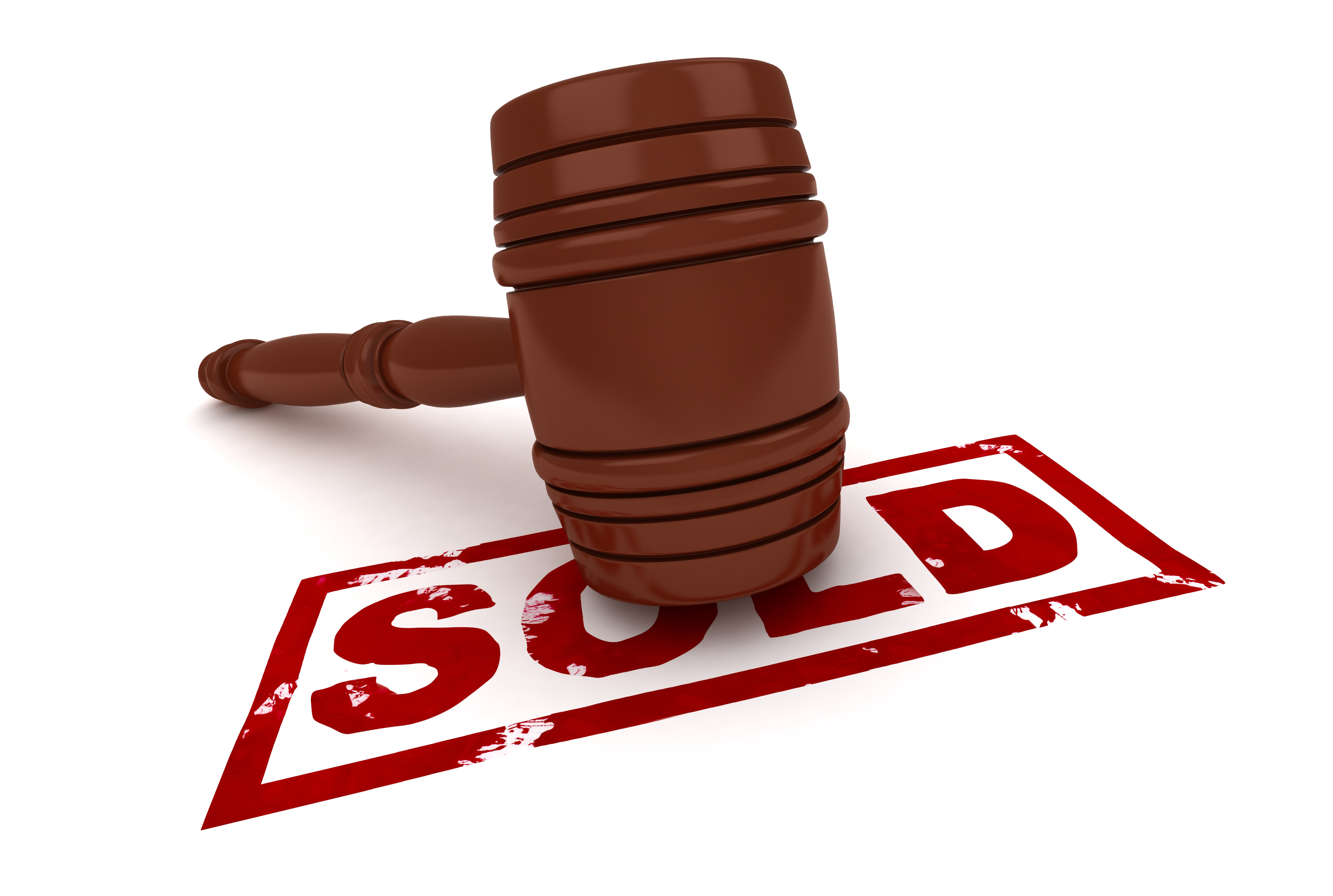 Auction Gavel With Word Sold. Royalty Free Stock Photography ...