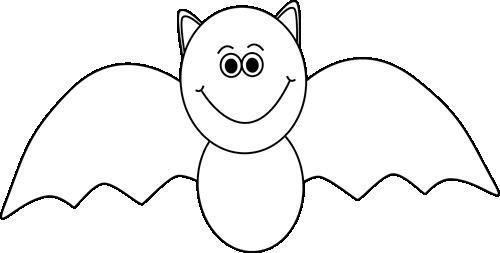 Career Clipart Black And White Black And White Halloween Bat