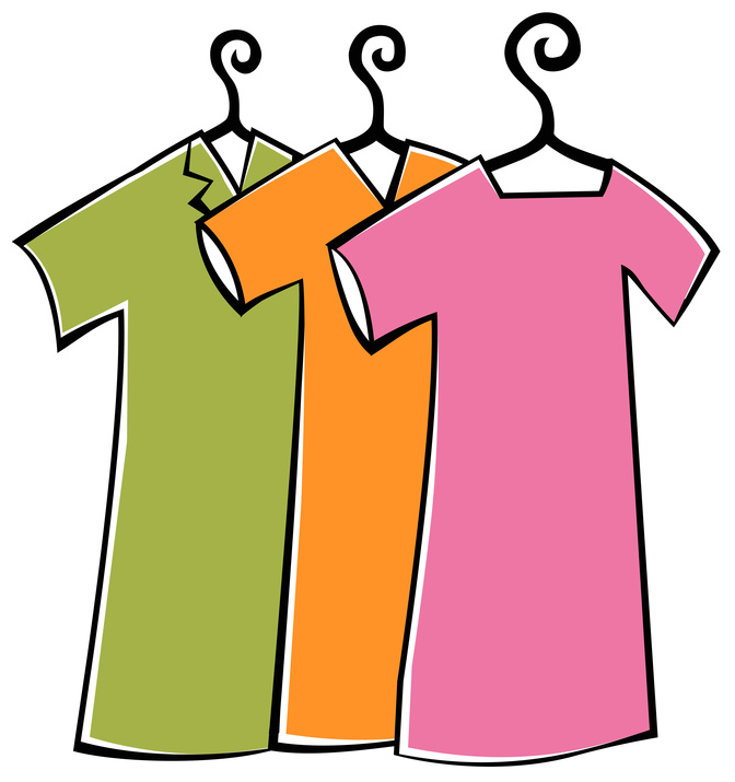 Clip Art Clothes   Cliparts Co