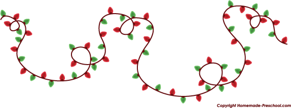 Home Free Clipart Christmas Clipart Christmas Lights Wiggle