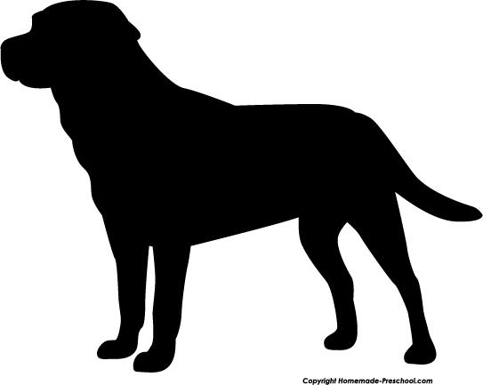 Home Free Clipart Silhouette Clipart Silhouette Labrador