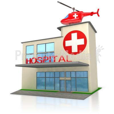 Hospital Clip Art Free Printable   Clipart Panda   Free Clipart Images