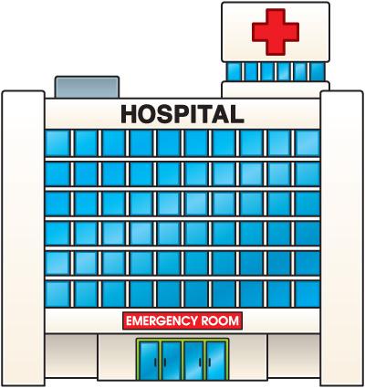 Hospital Clipart   Item 1   Vector Magz   Free Download Vector