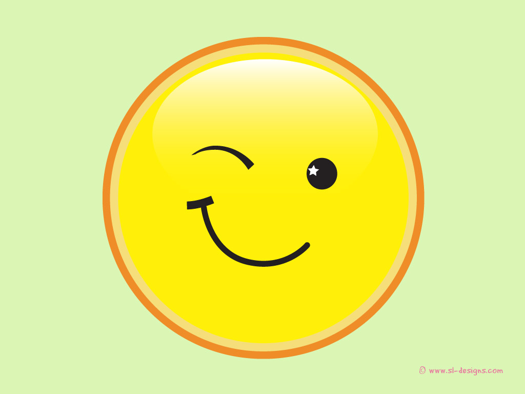 Smiley Face Wink Moving Winking Smiley Face   Clipart Best