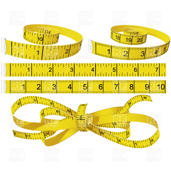 Weight Loss Tape Measure Clipart Measuring Tapes