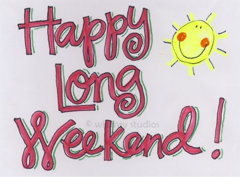 Ahhhh Long Weekends The First One Of The Season Is Always A Crap Shoot