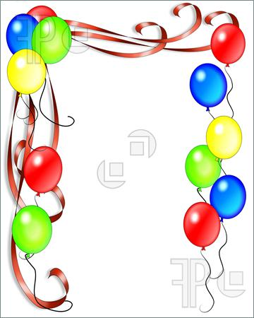 Birthday Clip Art Borders And Frames   Clipart Panda   Free Clipart