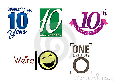 Business Anniversary Vector Clipart Eps Images 1260   Party