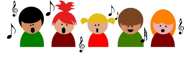 Students Singing Clipart - Clipart Suggest