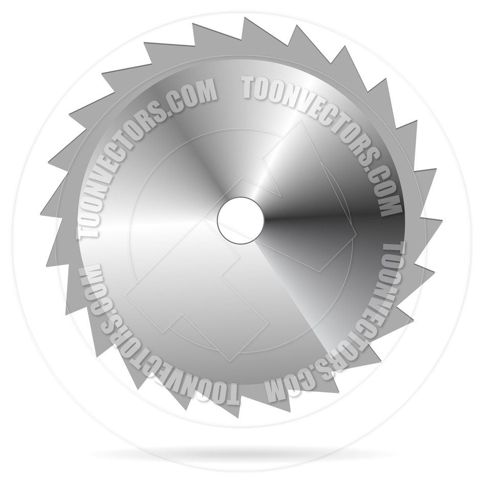 Circular Saw Blade By Mpavlov   Toon Vectors Eps  6611