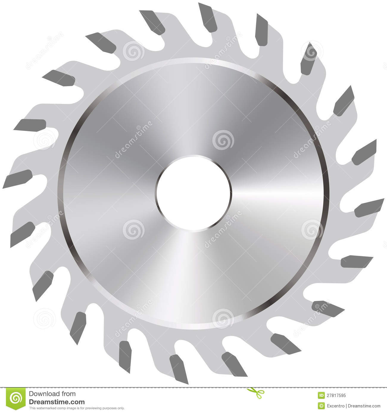 Circular Saw Blade Royalty Free Stock Photo   Image  27817595
