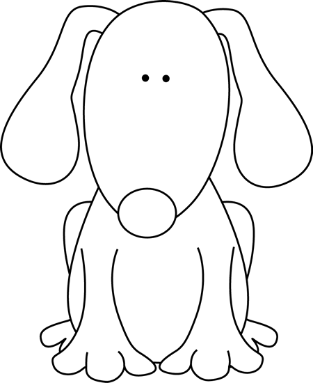 Dog House Clipart Black And White   Clipart Panda   Free Clipart