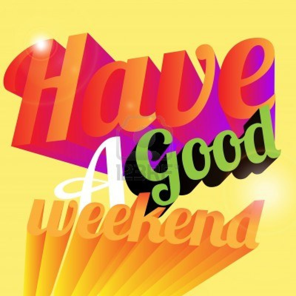 Have A Great Weekend Clip Art Free Success