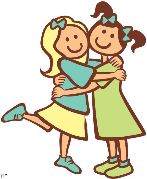 Hugging Clipart Put Together Of Friends Hugging Clipart Clipart Panda