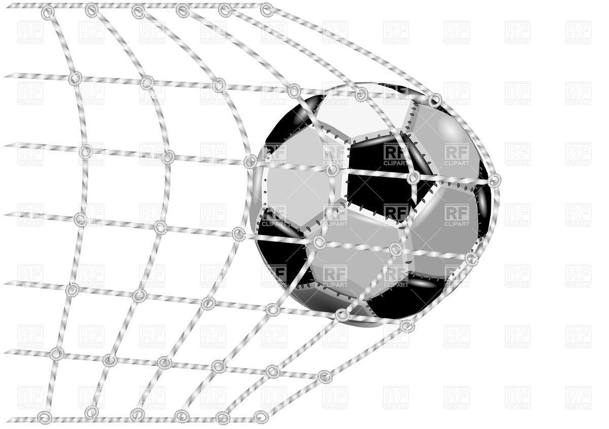 In The Net Gate   Goal Download Royalty Free Vector Clipart  Eps
