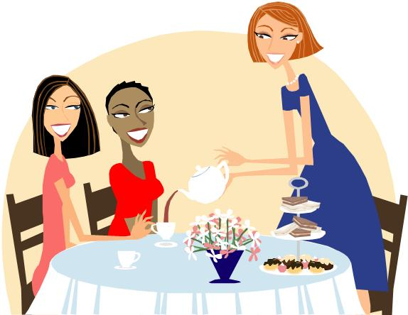 Ladies Day Out Clipart