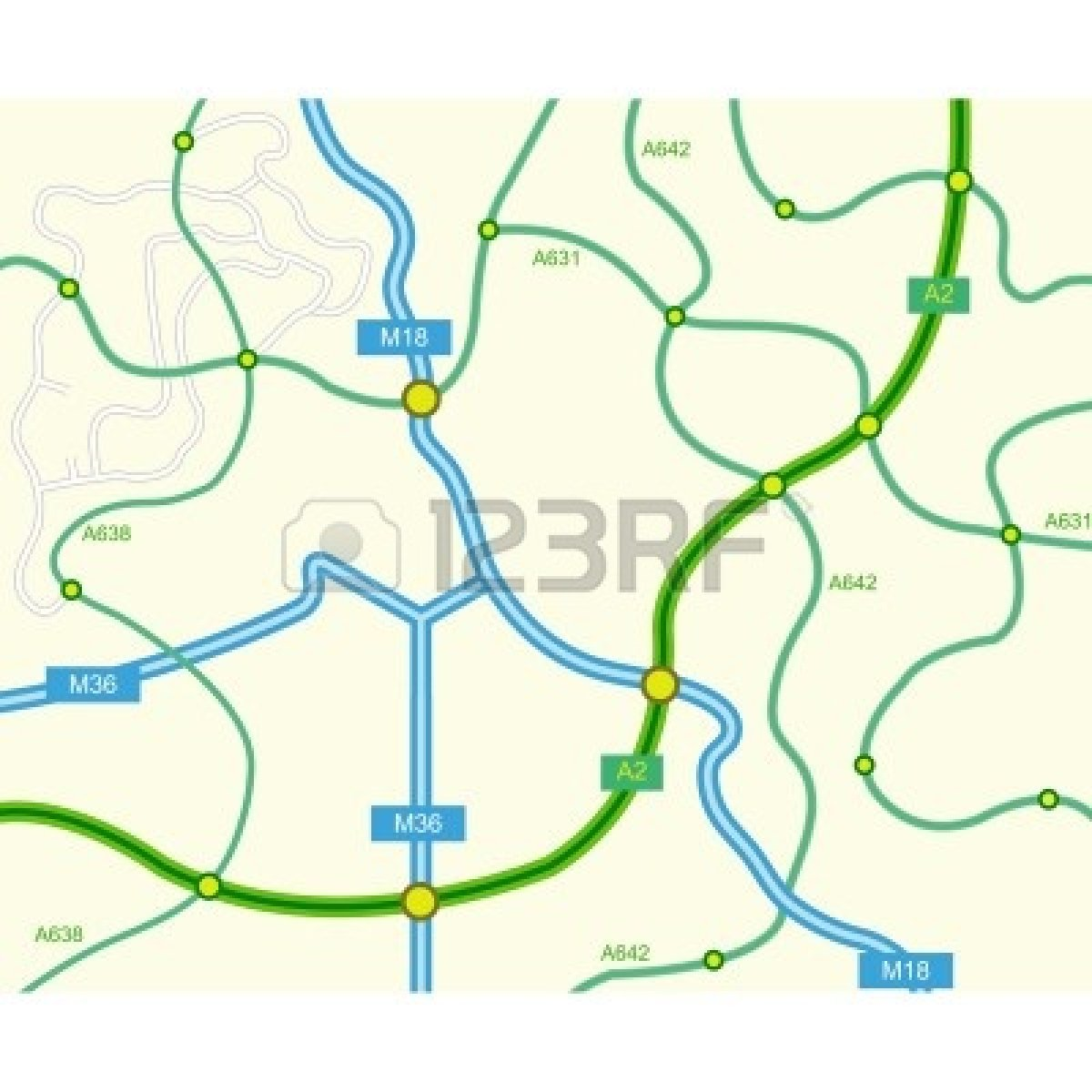 Map Clip Art Free