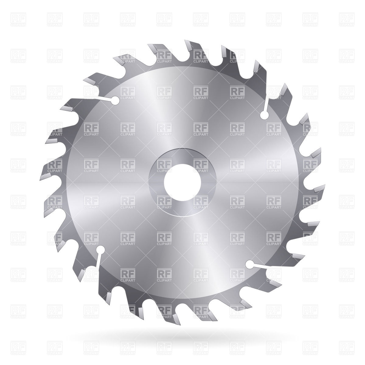 Metal Blade Of Circular Saw Download Royalty Free Vector Clipart  Eps