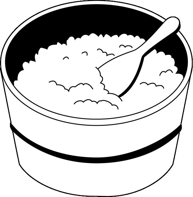 Operation Rice Bowl Meal Clip Art Http   Illpop Com Food M23e Htm