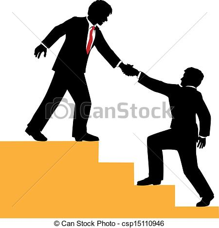 People Helping People Clipart Vector   Business People Help