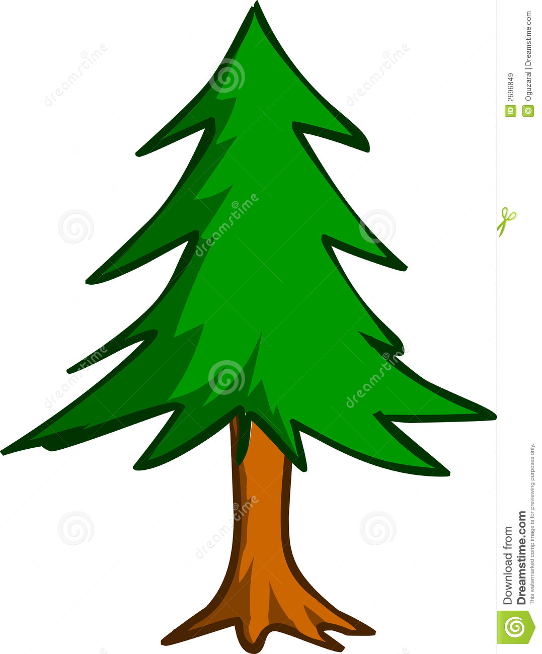 Pine Tree Clip Art   Clipart And Vector Collection