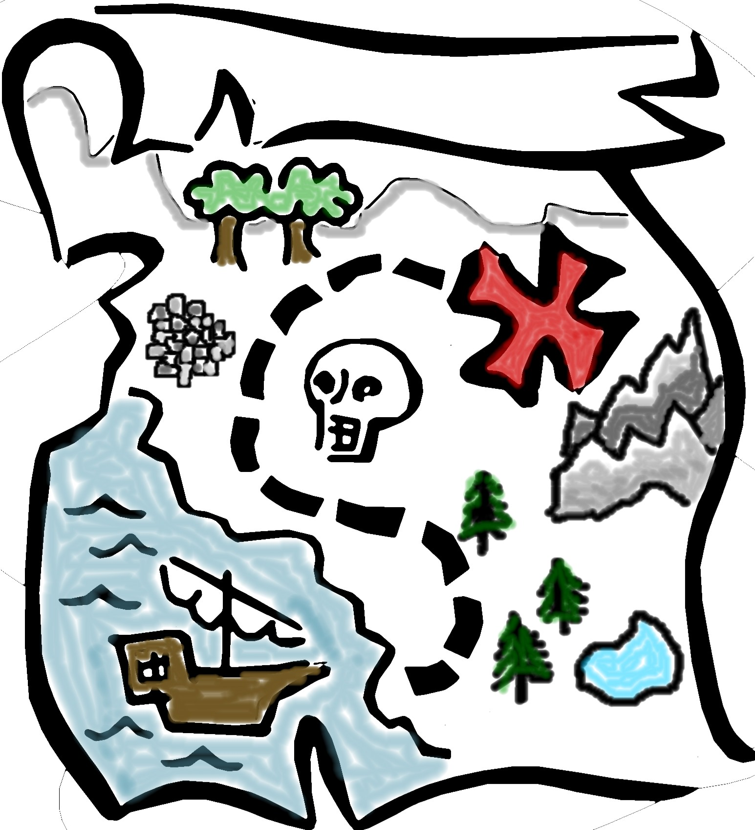 Published January 13 2015 At 1545   1697 In Treasure Map Clipart