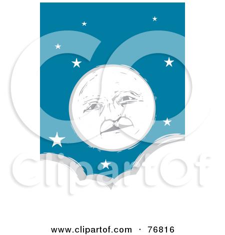 Similiar Full Moon Face Clip Art Keywords
