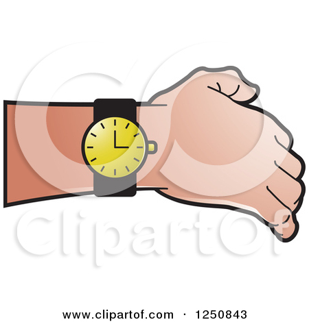 Royalty Free  Rf  Wrist Watch Clipart Illustrations Vector Graphics