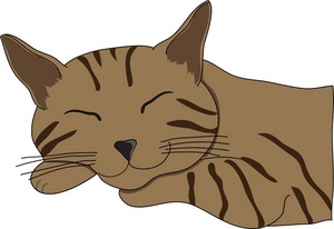 Sleeping Cat Clip Art Images Sleeping Cat Stock Photos   Clipart