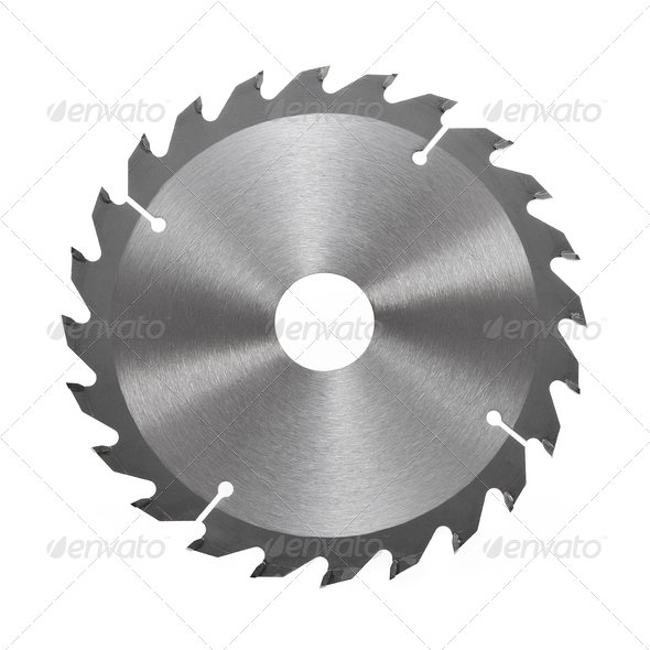 Stock Photo   Photodune Blade Circular Saw Blade For Wood Isolated On