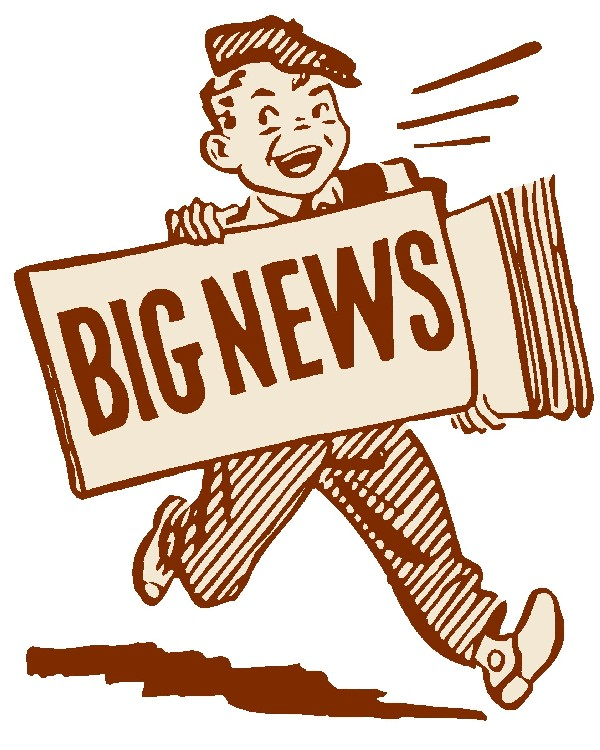 Image result for big news clipart