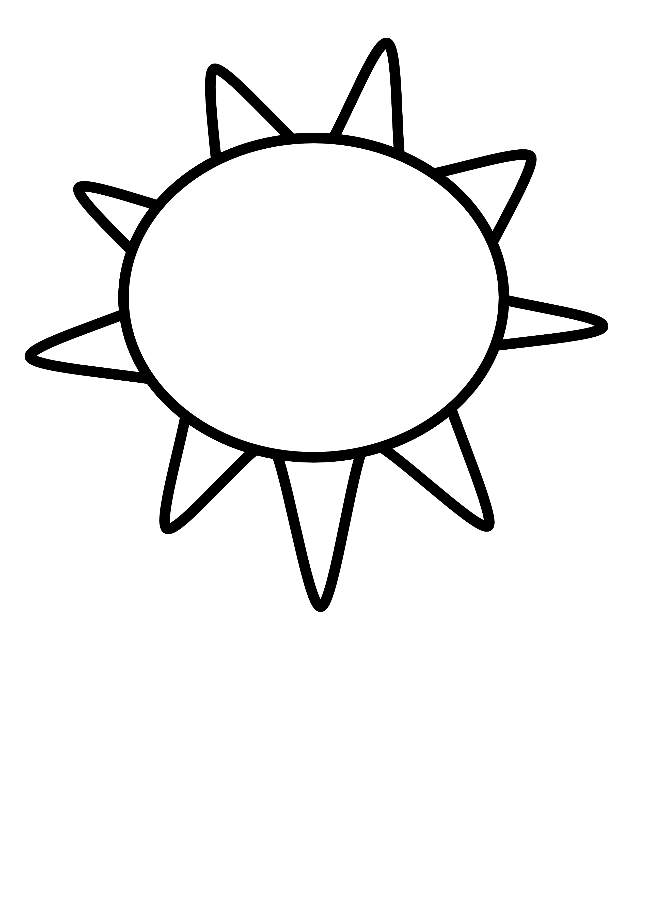 Line Art Black And White : Sun black and white clipart suggest