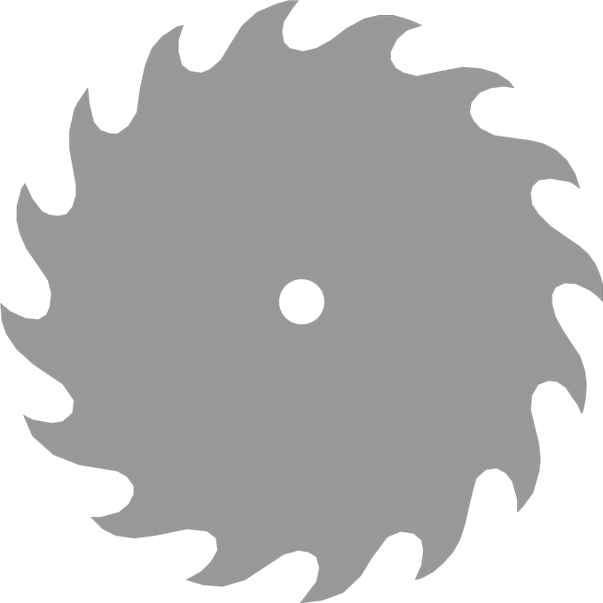 Saw Blade Black Clipart Clipart Suggest
