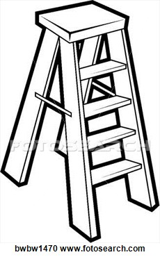 Black And White Ladder   Clipart Panda   Free Clipart Images