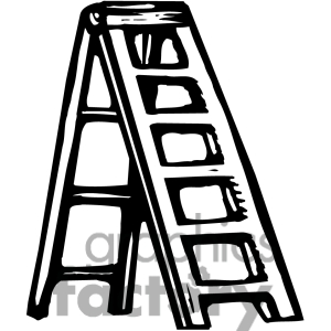 Black And White Ladder