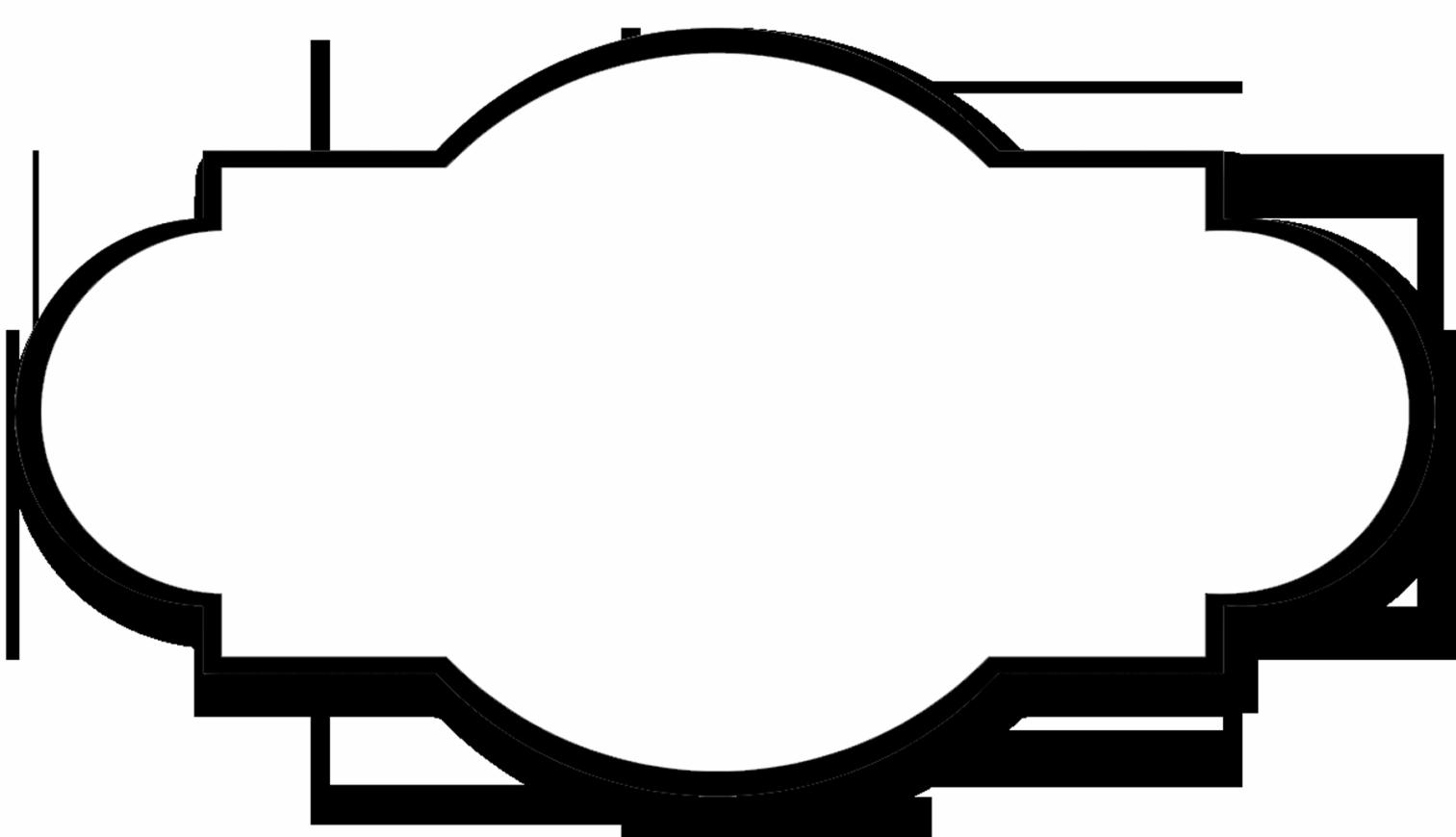 White Chalkboard Label Clipart - Clipart Kid