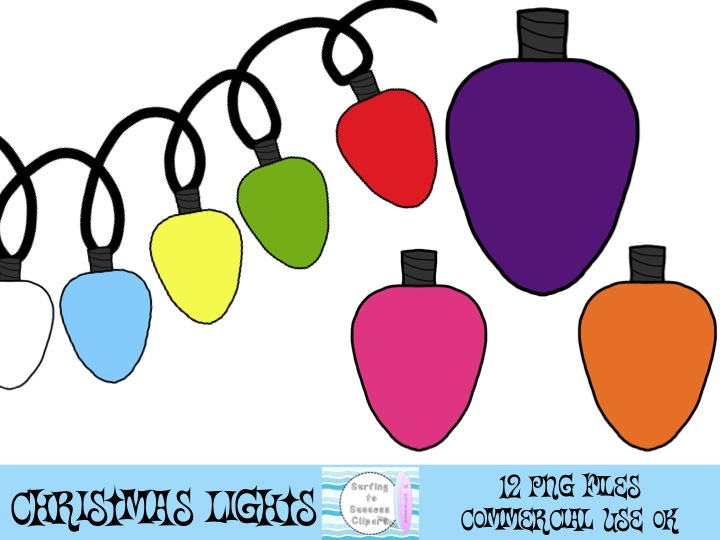 Christmas Lights House Clipart - Clipart Kid