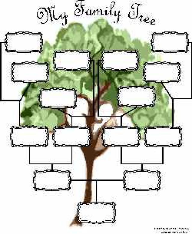 Family Tree Chart   Free Interactive Family Tree Template