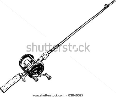 Clip Art Fisherman With Rod Clipart - Clipart Kid