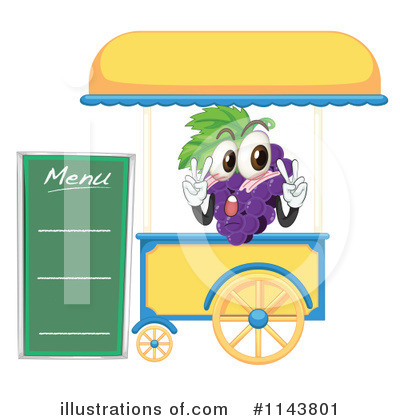 Food Stand Clip Art