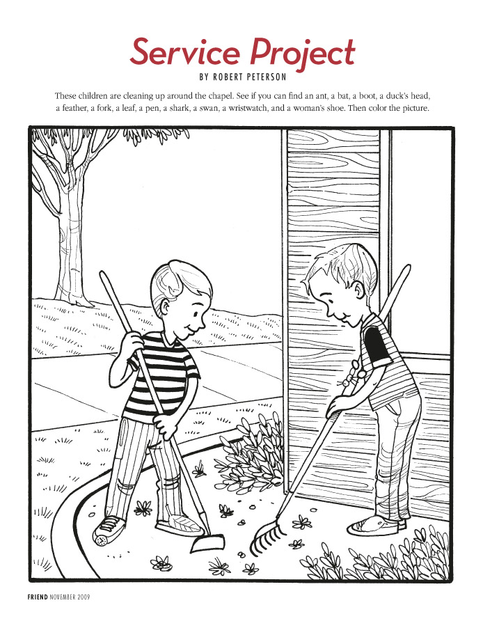Lds Coloring Pages   2015 2008