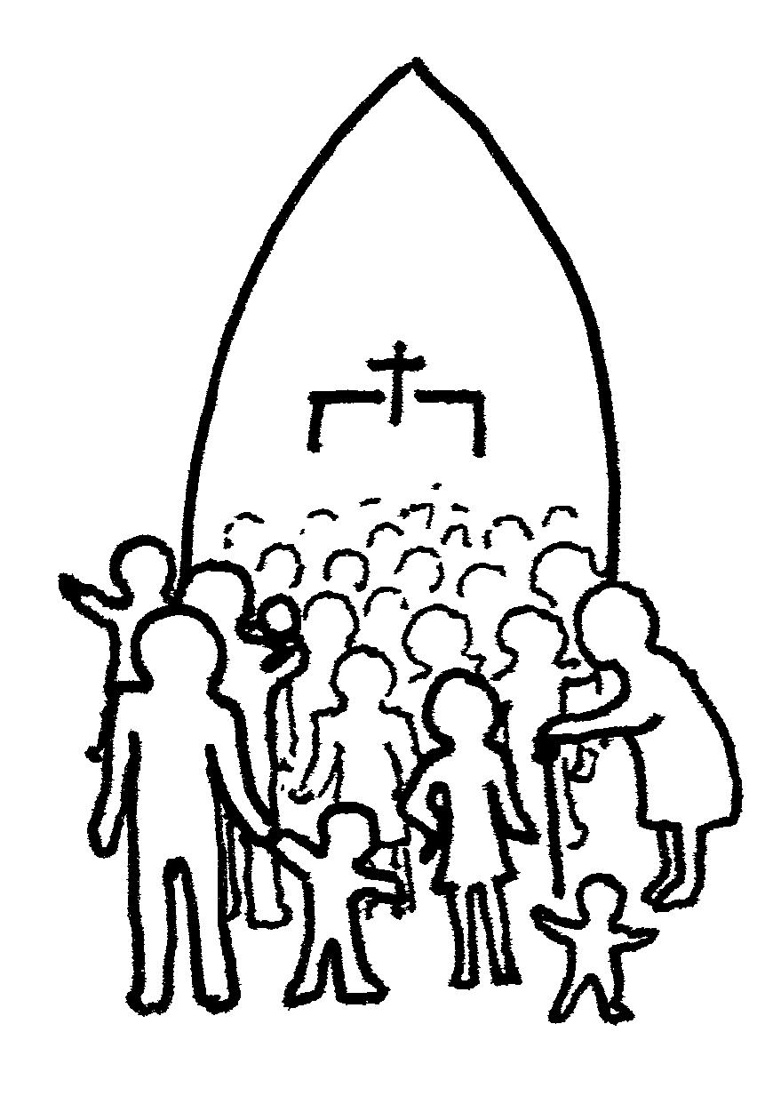 People Praying In Church Clipart - Clipart Kid